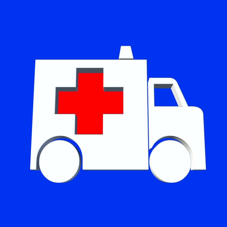 החנייה ליד המרפאה נועדה לשימוש רכב חירום ולצוות המרפאה בלבד