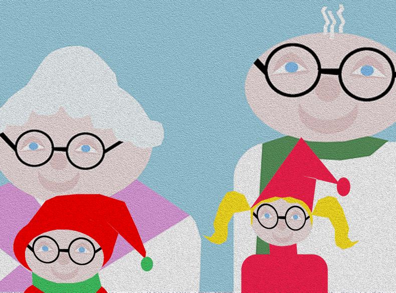 """א.בוקר מפנקת + הרצאה בנושא """"סבתאות"""" לוותיקים"""